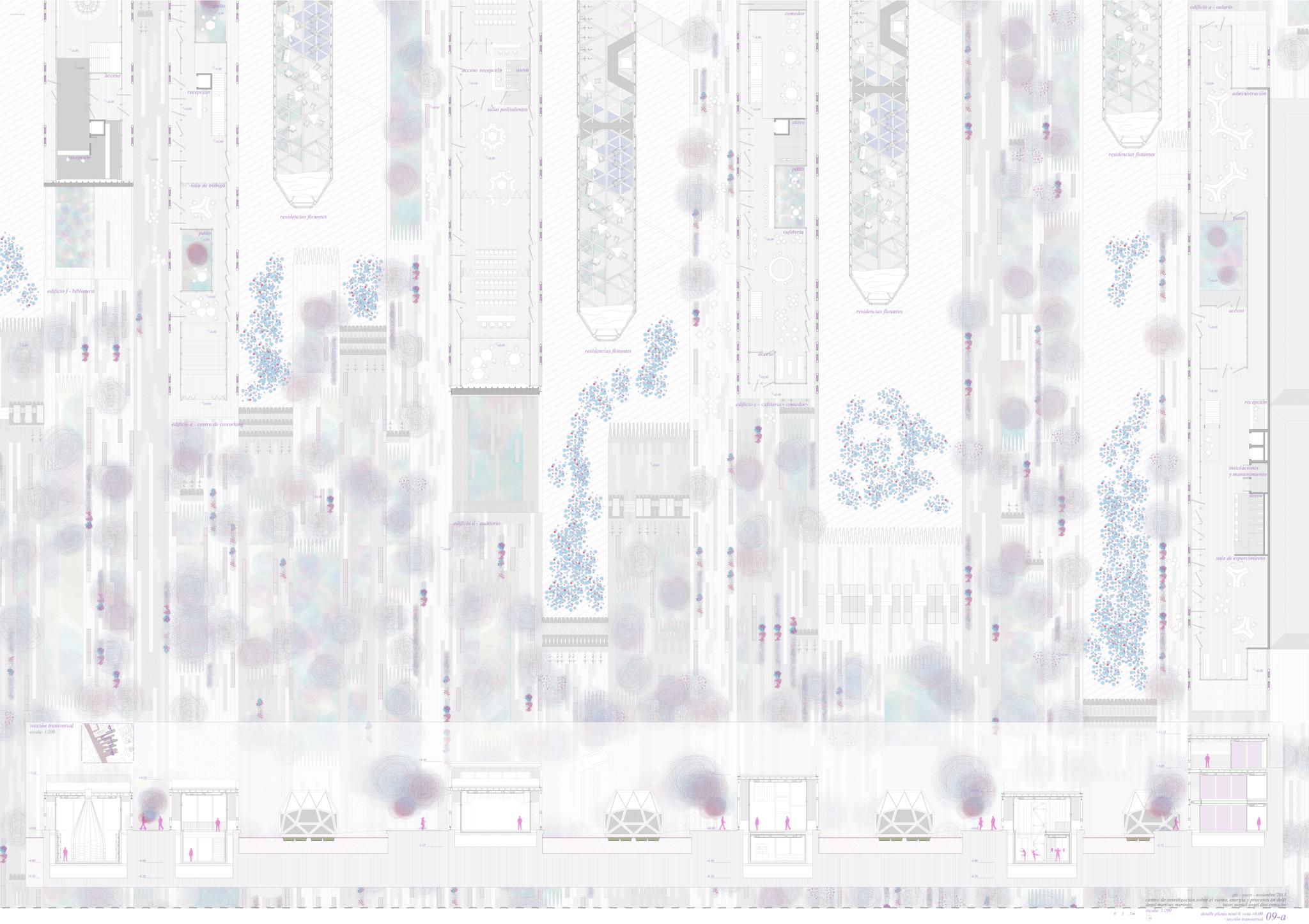 09-a_Sin Margenes_Planta nivel 0 y seccion transversal_2048x1447
