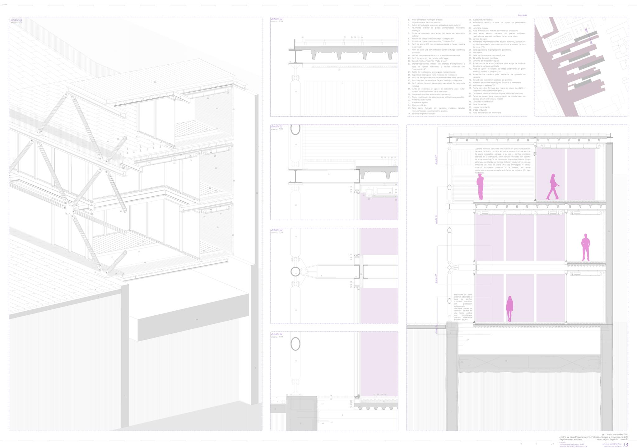 15_Seccion constructiva transversal y detalle 3d